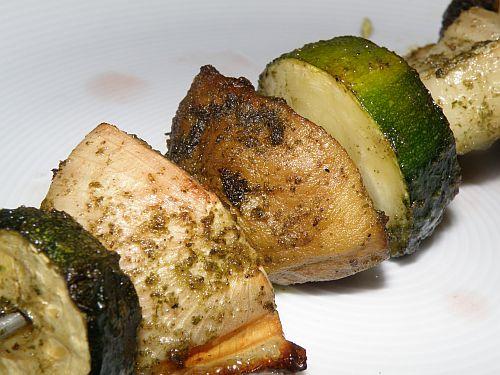 Gemüsespieß von Moni