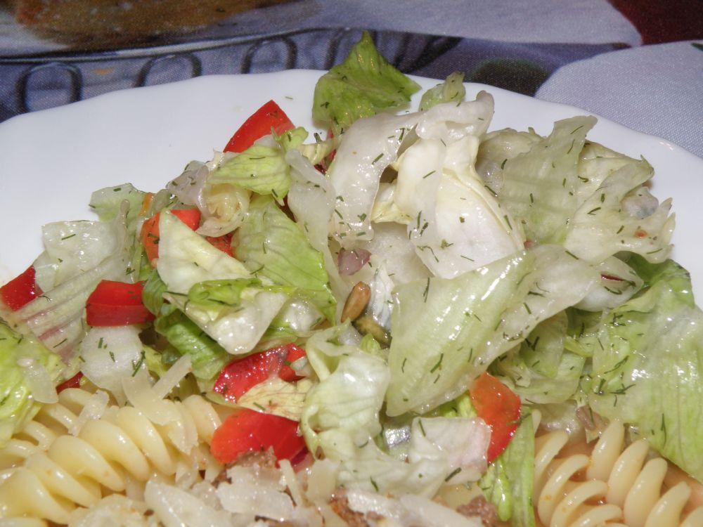 Salat mit Senfdressing von Moni
