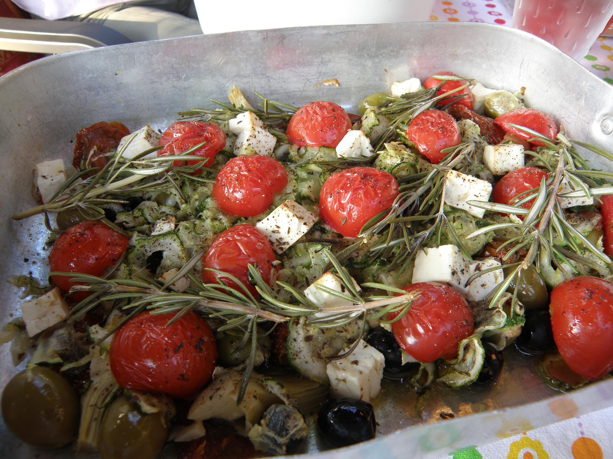 Oliven-Antipasti von Moni