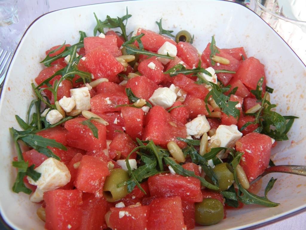Wassermelonensalat von Tine