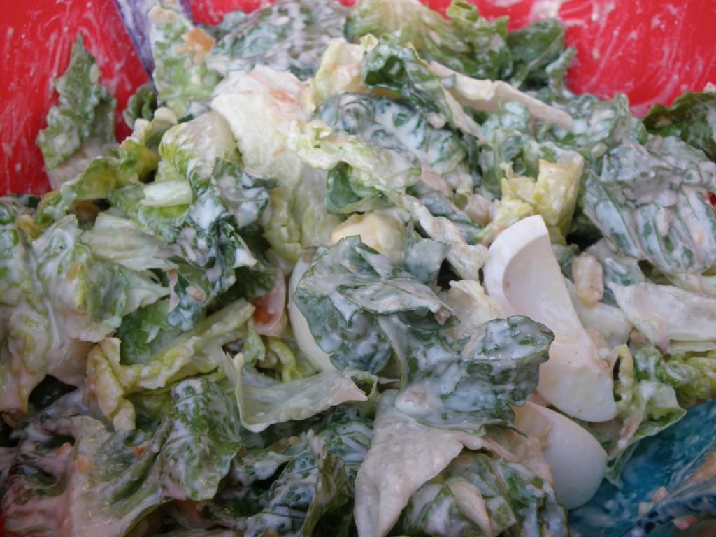 Caesar Salad mit Ei von Angelika