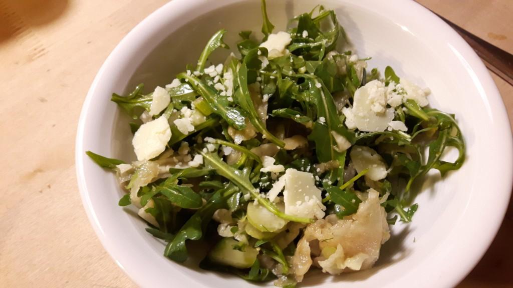 Rucolasalat mit Fenchel und Parmesan von Angelika
