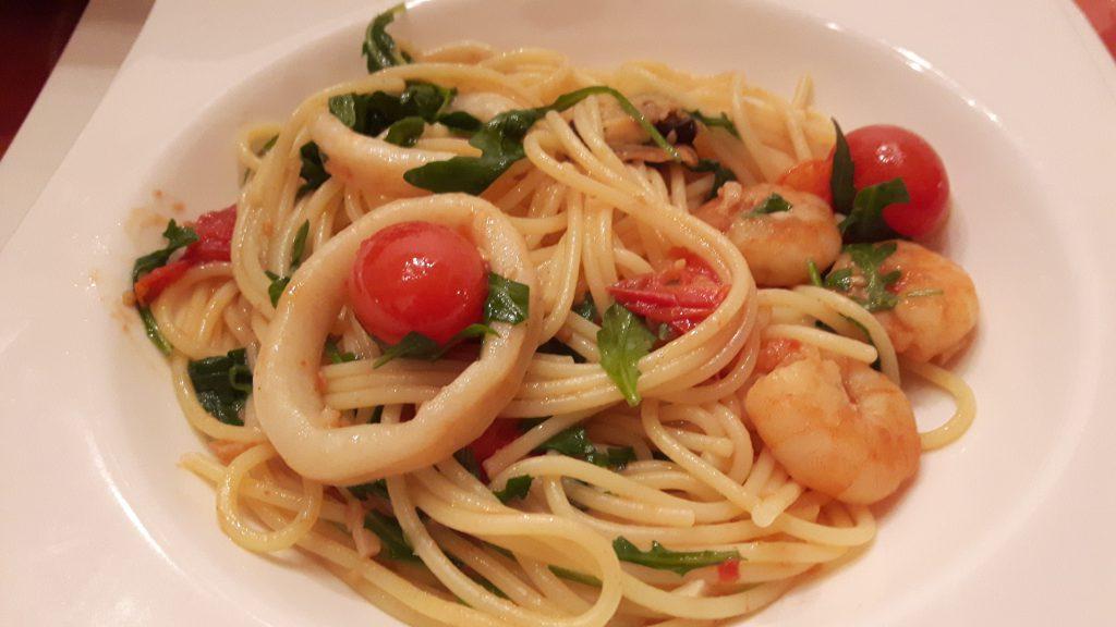 """Spaghetti """"Frutti di Mare"""""""