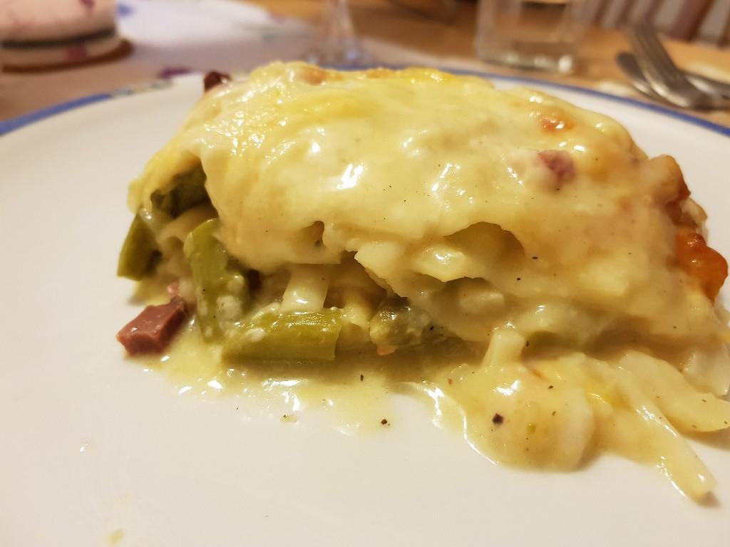 Spargel-Lasagne